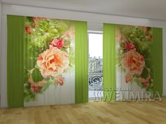 Peach 2 #Wellmira #ModernCurtains #PhotoCurtains #PanoramicCurtains #Foto Vorhänge #Foto cortinas