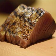 "Broiled Katsuo (Bonito) by straw-fuel ""Tataki""  鰹の藁焼きタタキ  #kaiseki #cuisine #kitaohji #bonito #katsuo #returnedbonito #tataki #strawfuel #カツオ #鰹 #タタキ #戻り鰹 #藁焼き #japanesefood #instafood #foodpic #foodporn #japanesecuisine #authenticjapanesecuisine #dinner #yum #yummy #thonglor #bangkok #sukhumvit #อาหารญ by takashi.kitahara"