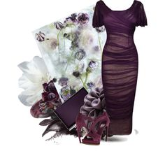 Purple Rose by anna-jarovaja-v on Polyvore featuring Dolce&Gabbana, Alexander McQueen, Judith Leiber, Hring eftir hring, Trend Cool, La Hormiga and Disney
