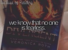 Because of reading... Divergent
