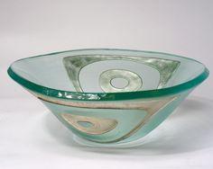 Silver Geometrik Small Bowl