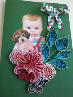 Card made with lots of love! This flower grow up in my mind like a true hope friendship is real and true