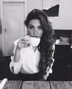 "117.7k Likes, 667 Comments - Negin Mirsalehi (@negin_mirsalehi) on Instagram: ""Green tea before take off!"""