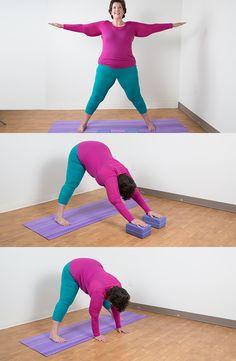 Make Yoga easier for curvy people