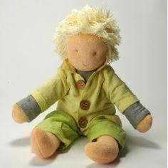 Bambola di pezza Boris. Bambola da vestire, ecomiqui.it
