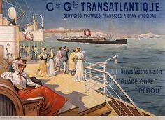 Resultado de imagen de transat-saint-nazaire-affiche-150-ans1