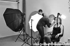 There is always much to do on photo shoot