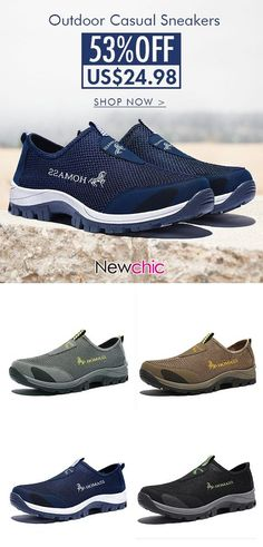 super popular 29ee2 95e08 Buy NowMen Breathable Mesh Fabric Wear-resistant Outdoor Casual Sneakers  outdoor · Discount Mens ShoesMens ...