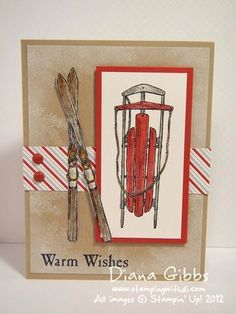 Winter Wishes ~ Stampin' Up!
