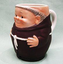 Goebel Friar Tuck Monk Beer Mug Stein Tmk 2 Full B Incised