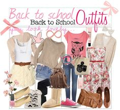 """Back to school outfits!"" by the-tip-nerds ❤ liked on Polyvore"