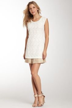 Central Park West Sleeveless Lace Dress by Central Park West on @HauteLook