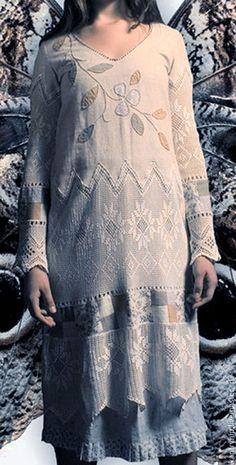 """Платья ручной работы. Ярмарка Мастеров - ручная работа. Купить Платье """"Белые ночи"""". Handmade. Белый, однотонный"""