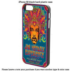 Custom Jimi Hendrix Experience Cover iPhone 4 5 5s 5c 6 6s 6+ 6s+ Samsung Case