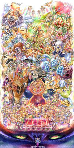 Pretty cool Legend of Zelda universe fan art