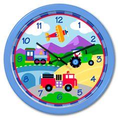 Olive Kids Trains Planes Trucks Toddler Comforter Set