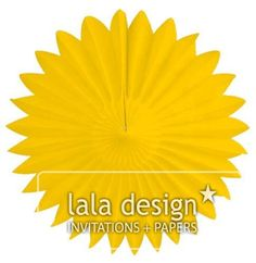 Yellow paper burst