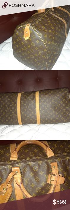Authentic Louis Vuitton  Keepall 60 Good Condition,Only the handles look a little used Louis Vuitton Bags Totes