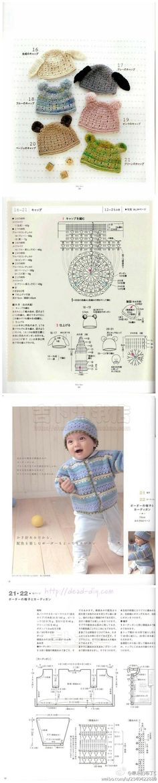 crochet kids hats patterns tutorials