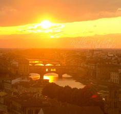Florence, Italy sun