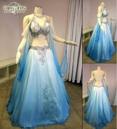 Wow! Belly Dancer Gown