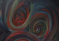 Dipinti ad olio: Vortici