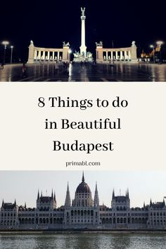 There are many things to do in Budapest, all of which will make you fall further and further in love with this gorgeous city. Here are my Top 8.