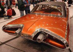 1963 #Chrysler un auto con turbinas? impresionante diseño