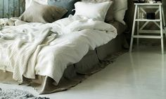 unmade bed- whith style, detail