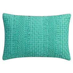 Cape Town Quilted Oblong Throw Pillow