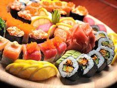 40 Piezas de Sushi Take-Away. Sabor oriental.Hospital Clínic