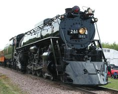 The Milwaukee Road 261 Steam Locomotive. Visit www.261.com to find out more.