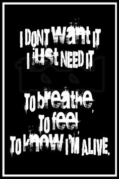 I dun wan it I jus need it Music Love, Music Is Life, My Music, Tool Lyrics, Music Lyrics, Lyric Quotes, Me Quotes, Band Quotes, Tool Music