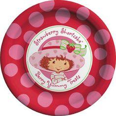 Polka Dot Birthday Supplies, Decor, Clothing: Stawberry Shortcake Polka Dot Party