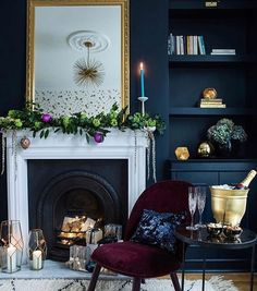 Throwing it back to a Glam Rock Christmas at ours last year because I've got a sick three-year-old on my hands, not enough sleep and a lot… Little Greene, Color Trends, Wood Burning, House Colors, Stove, Future House, Neutral, Kitchen Cook, Woodburning