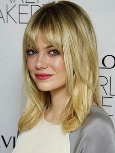 Medium Hairstyles for Round Faces and Thin Hair