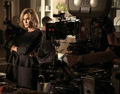 Coven behind the scenes