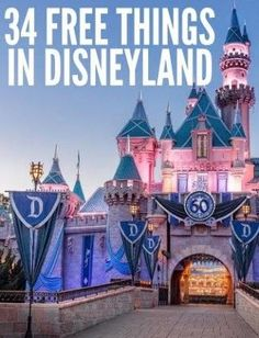 disneyland free things, vacation planning