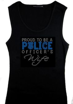 Proud to be A Police Officer's Wife Tank