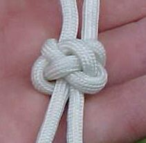 Friendship Knot.  The website has step-by-step instructions. Like the symbolism.