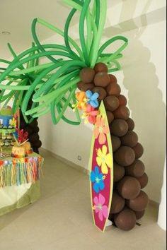 Ideas para una fiesta Hawaiana (1) | Curso de organizacion de hogar aprenda a ser organizado en poco tiempo