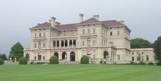 """The Breakers is the grandest of Newport's summer """"cottages"""" and a symbol of the Vanderbilt family's social and financial preeminence in turn of the century America. Commodore Cornelius Vanderbilt (1794-1877) established the family fortune in steamships and later in the New York Central Railroad, which was a pivotal development in the industrial growth of the nation during the late 19th century."""
