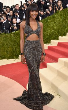 Naomi Campbell from Met Gala 2016: Red Carpet Arrivals | E! Online