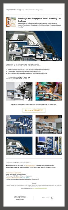 Frühlingsfitte Websites | lebendig und erlebbar! Web Design, Marketing, Linz, Design Web, Site Design, Website Designs