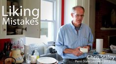 Liking Mistakes - Chris Staley, Penn State Laureate 2012-13. The craftsmanship of risk.- David Pye