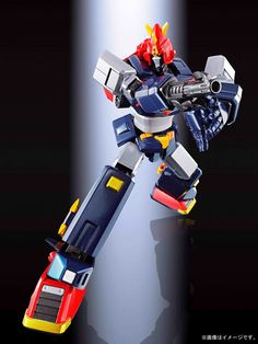 Soul of Chogokin is a line of Bandai's nostalgic yet high-tech series of diecast metal robots or mecha, packed with hidden gimmicks and features. Most Advanced Robot, Super Robot Taisen, Metal Robot, Vintage Robots, Mecha Anime, Robot Art, Diecast, Action Figures, The Incredibles