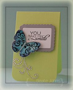 Card by Beate Johns using Fabulous You and Hearts on Fire from Verve.  #vervestamps