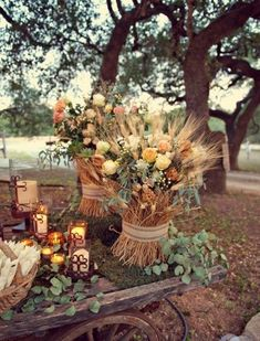 Fall Wedding Decoration Inspiration