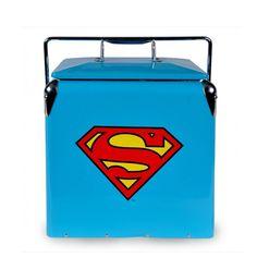 Cooler de metal Superman