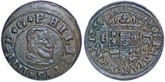 16 COPPER MARAVEDÍS / COBRE. FELIPE IV. 1664 BR. SEGOVIA. XF-/EBC-. ATRACTIVA | eBay